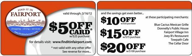 FindItInFairportCard